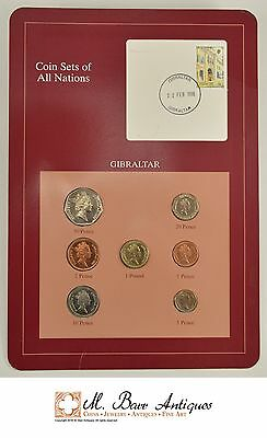 Coin Sets Of All Nations - Gibraltar *590