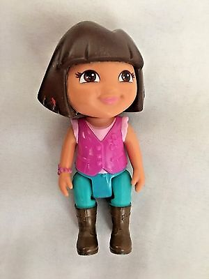 "Disney 4"" Dora the Explorer Doll Figurine"
