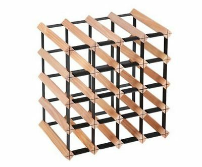 New Timber Wine Rack 20 Bottles Home Storage Organizers Bar Solutions Barware