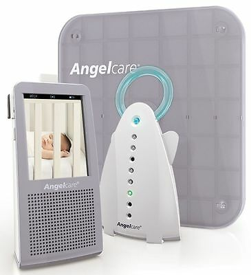 Angelcare AC1100 Digital COLOUR VIDEO MOVEMENT SOUND Baby Monitor Pad Camera VGC