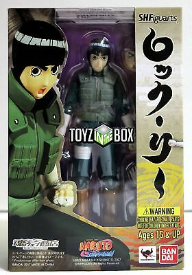 "In STOCK Bandai S.H. Figuarts ""Rock Lee"" (Naruto Shippuden) Action Figure"