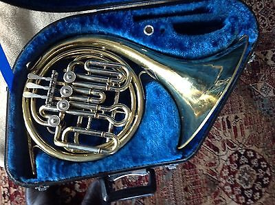 Danor Bb/F Compensating Horn with Yamaha Case and Jupiter Mouthpiece. Serviced