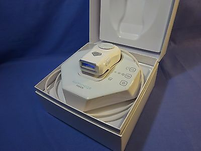 Iluminage Touch IPL Hair Removal Device, Elos with Epilator & Razor attachments