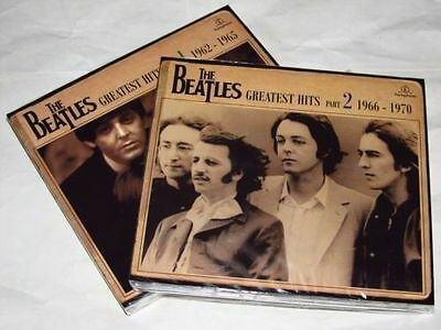 THE BEATLES Vol 1 & 2 - Greatest Hits - 4CD