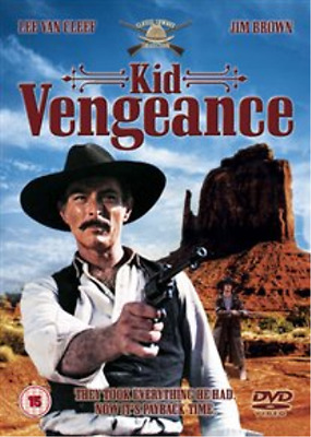 Lee van Cleef, Jim Brown-Kid Vengeance  (UK IMPORT)  DVD NEW