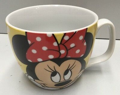 Disney Minnie Mouse Ceramic Handled Jumbo Size Soup Cup