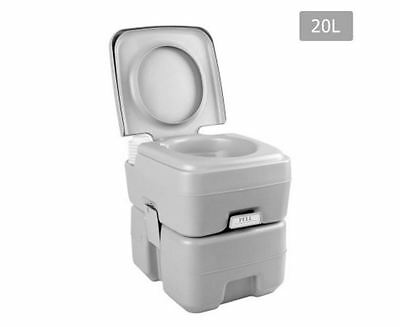New Weisshorn 20L Portable Camping Toilet High Quality Durable 12L Fresh Water