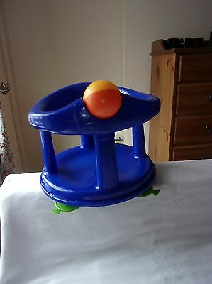 Safety 1st Dark Blue Baby Swivel Bath Seat with Suction Cups
