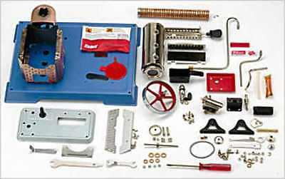 Uk-Special: Wilesco D9 New Toy Steam Engine Kit - New + Free Shipping