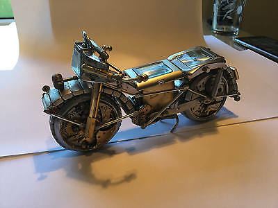 Motorcycle - Made from Watch Parts