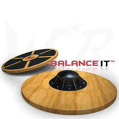 Wooden Balance Board Exercise Fitness Workout Rehabilitation Wobble Board