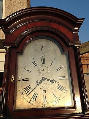 London Mahogany Longcase / Grandfather Clock
