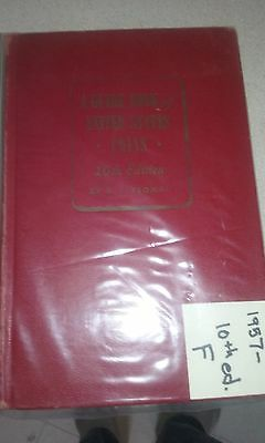 1957 guide book of us coins