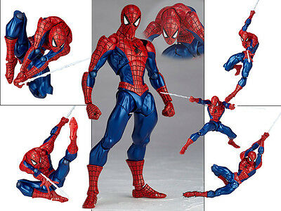 Marvel Legends Universe Spider Man Revoltech No.002 Figur Figuren No Box