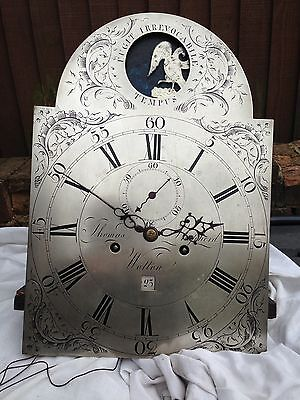 Longcase Grandfather Clock Automaton Movement By Thomas Shepherd Of Wotton