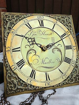 Longcase/Grandfather Clock Movement 30 Hour , Lantern Type Pillars