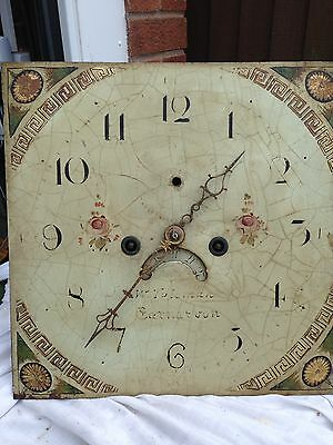 Longcase/ Grandfather Clock Movement By Toleman Of Carnarvon