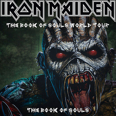 IRON MAIDEN BOOK OF SOULS TOUR BROOKLYN NY SUMMER 2017 BARCLAY Ctr GA PIT 2