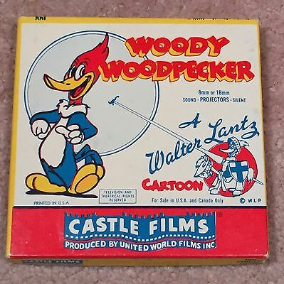 Vintage Woody Woodpecker Goofy Golfer Castle Films Walter Lantz 8 Mm No. 506