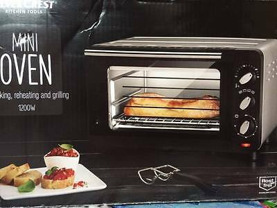 Mini Oven Bake Reheat Grill Caravan Mobile Campervan Micro Worktop Top 1200W