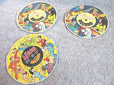 archies jackson five cereal premium record cut from boxes records