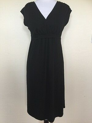 Pre-owned XS Nursing Breastfeeding Maternity Stretchy Black Little-black-Dress