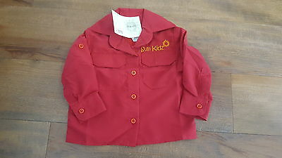 Kids Fishing Shirt Size 1, 2, 4, 6