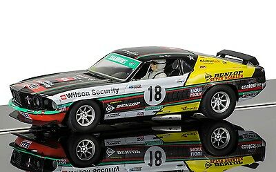 Scalextric C3728 Ford Mustang Boss 302 1969 Slot Car 1:32