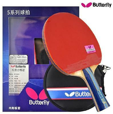 Japan BUTTERFLY 5 Star TBC501 Table Tennis Racket Long/Short Handle PING PONG