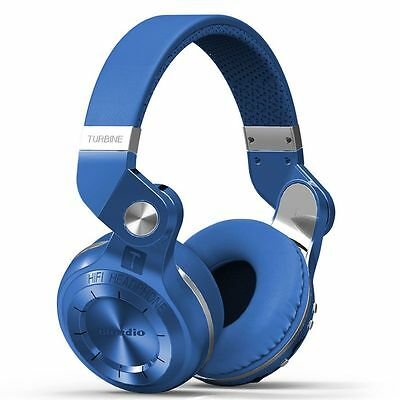 Bluedio T2+ Wireless Bluetooth 4.1 Stereo Headphone Foldable Headset With Mic