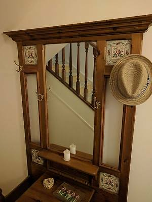 Timber HALLSTAND with MIRROR