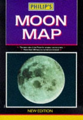 Philip's Moon Map (Astronomy), George Philip & Son, Philip's Publishing | Paperb