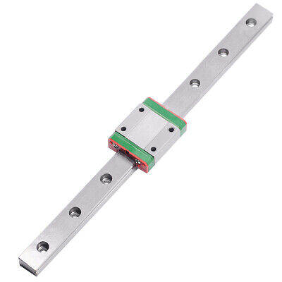 MR7 7mm MGN7 Mini Linear Guide 250mm Rail With MGN7C Linear Block Carriage