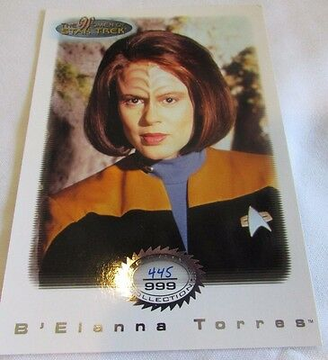 Star Trek Women Of Star Trek In Motion Archive Collection AC1 Lt B'Elanna Torres