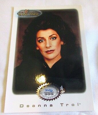 Star Trek Women Of Star Trek In Motion Archive Collection AC4 Deanna Troi
