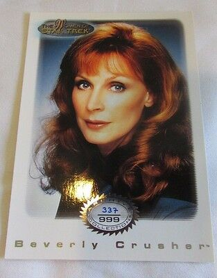 Star Trek Women Of Star Trek In Motion Archive Collection AC5 Beverly Crusher