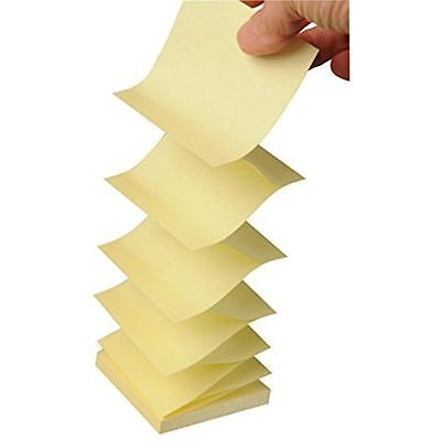 2,400 SHEETS! 3M Post-it 3 x 3 inch Pop-up Note Refills, Canary Yellow, 24 PADS