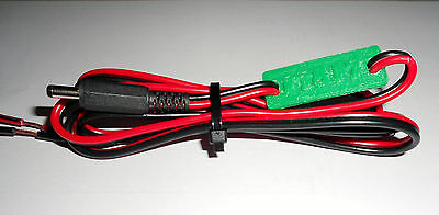 Yaesu FT817 FT817ND power lead / cable with marker (LD102)
