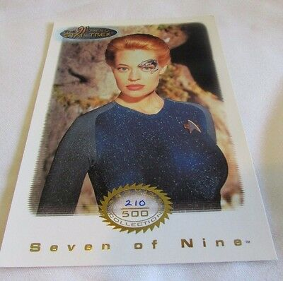 Star Trek Women Of Star Trek In Motion Archive Collection Gold 3 Seven of Nine