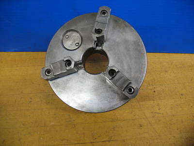 """Skinner-Horton 6"""" 3 Jaw Chuck W/reversible Jaws D1-3 Monarch 10Ee Mount"""
