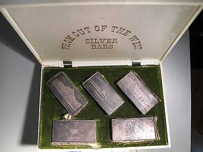 Great U.S. Mines Silver Proof set 1968 by W.H. Foster, Inc.