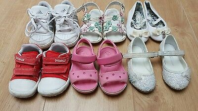 joblot baby girls sandals/sheos/trainers size 4