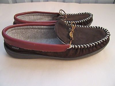 Cabela's Moccasin Slip-On Slippers  Mens Size 13W