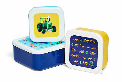 Tractor Ted Snackpot - *OFFICIAL* - Set of 3 Stacking Snack pots