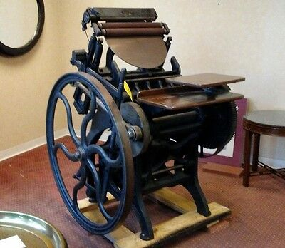 Antique Chandler & Price Letter Press in great working condition aprox. 1901