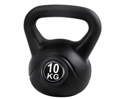 New Kettlebells Fitness Exercise Kit 10Kg Workout Bodybuilding Weightliftings