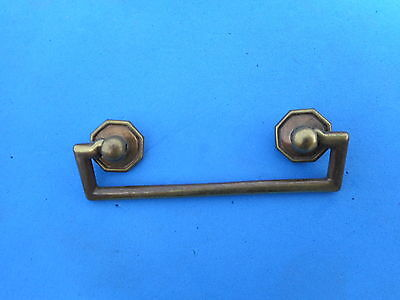 "Brass Drawer Dresser Pull Vintage Antique High Quality Cast Italian 2.5"" Cnt"