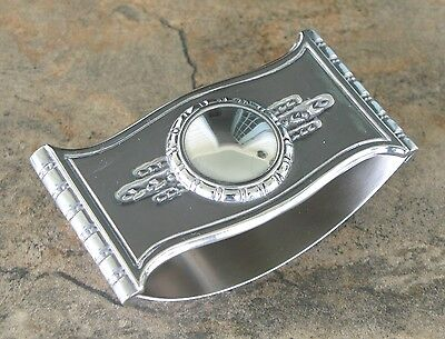 NEW, SMALL PEWTER (Ink) Rocker Blotter -HAND-CAST IN USA