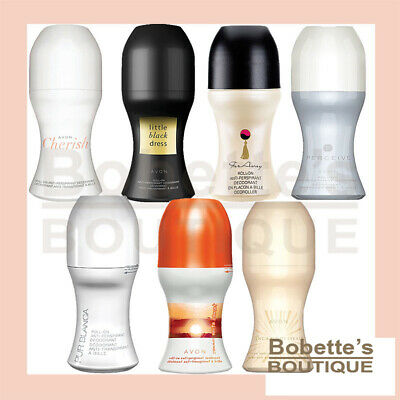 Déodorant Bille AVON FAR AWAY, PUR BLANCA, LITTLE BLACK DRESS, CHERISH, PERCEIVE