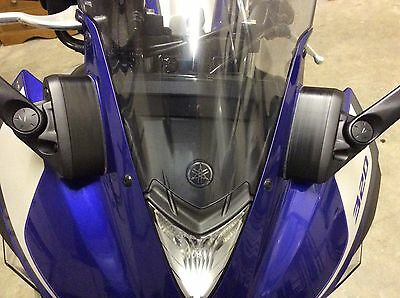 MIRROR EXTENDERS SPACERS YAMAHA R3 YZF-R3 2015 2016 Lifetime Warranty